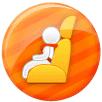 公益活动儿童安全座椅